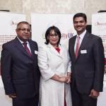 Bala Mahendran, Baroness Verma & Chris Hyman CBE