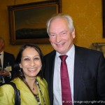 Lopa Patel MBE, Founder & CEO of Diversity UK with The Rt Hon Francis Maude, Minister for the Cabinet Office