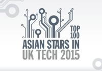 Top 100 Asian Stars in UK Tech 2015