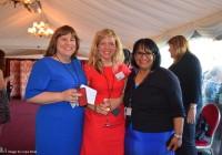 L-R: Carol Rosati OBE, Amanda Ciske of the Inspire Network with Baroness Sandip Verma