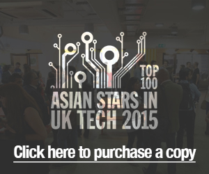 Top 100 Asian Stars in UK Tech 2015
