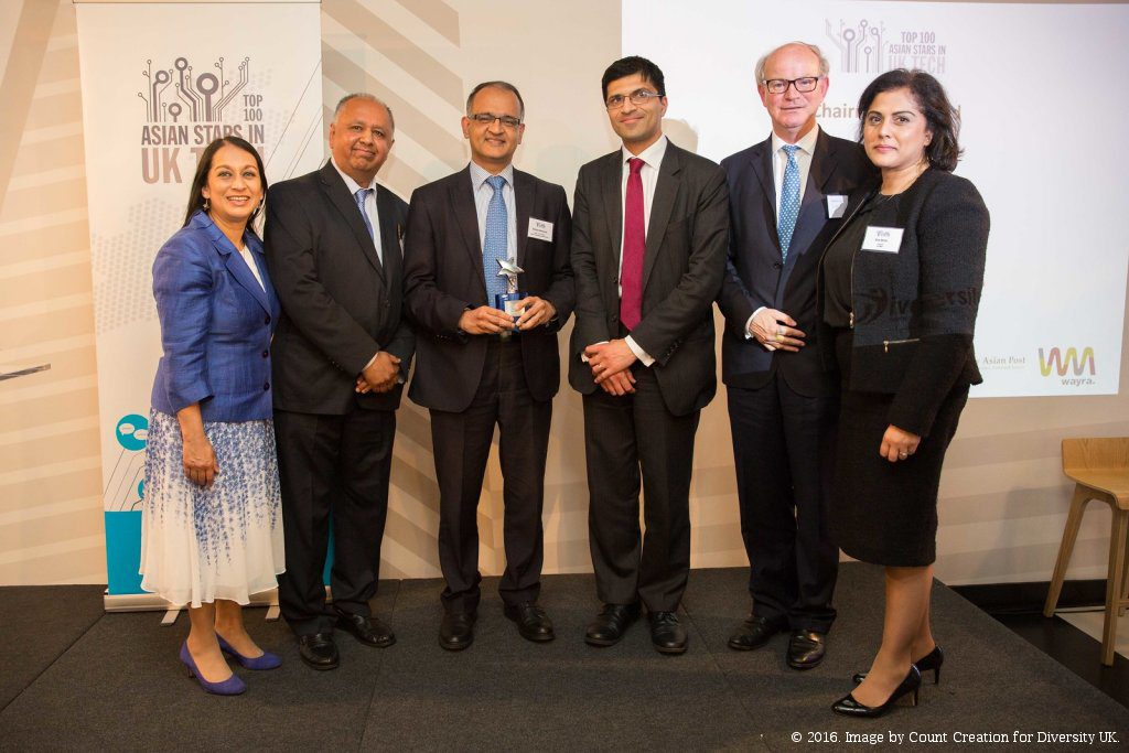 Shankar Narayanan named Top Asian in UK Tech Industry