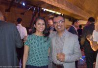 MSDUK's Malvika Patel and Mayank Shah at the MSDUK 10th Anniversary celerebation on 21st September 2016. Image copyright of Lopa Patel