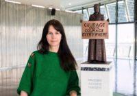 Gillian Wearing - sculptor of the Millicent Fawcett statue