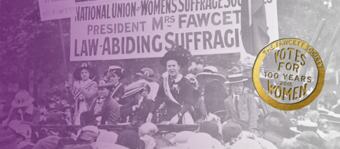 Fawcett Society Votes for Women Centenary